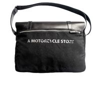 Helstons Messenger Dossier Bag Black
