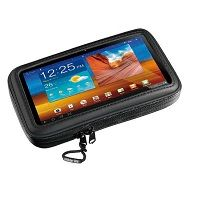 Interphone Case For 5.4 Smartphone/gps Sat Nav For Tubular Handlebars
