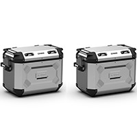 Kappa K Force Kfr48 Side Cases Pair Grey