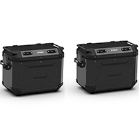 Kappa K Force Kfr48 Side Cases Pair Black