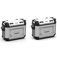 Kappa K Force Kfr37 Side Cases Pair Grey