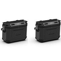 Kappa K Force Kfr37 Side Cases Pair Black
