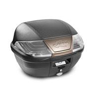 Kappa Bauletto Nero 40lt Sistema Monolock K400nt