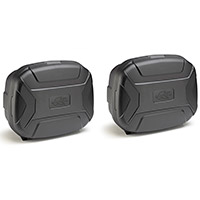 Kappa K Vector Kvc35n Cases Pair Black