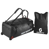 Scott Wheel Duffle 110 Bag Black Red