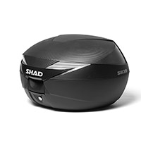 Shad Sh39 Carbon Top Case Black
