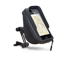 Shad Sg75m Mirror Smartphone Holder Black