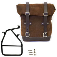 Unit Garage Waxed Suede S Ide Pannier + Subframe Ninet Series Brown