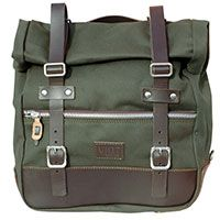 Unit Garage 1 Borsa Laterale Universale U003 Verde/marrone