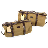 Unit Garage Borsa Duffle Kalahari 43l Canvas Marrone