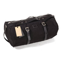 Unit Garage Borsa Duffle Kalahari 43l Canvas Nero