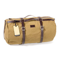 Unit Garage Borsa Duffle Kalahari 25l Canvas Marrone