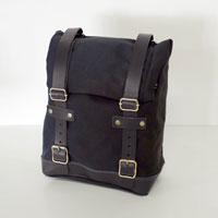 Unit Garage Borsa Canvas Nero