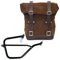 Unit Garage Leather Bag+dx Frame Brown
