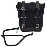 Unit Garage Leather Bag+dx Frame Black