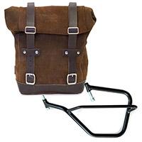 Unit Garage Leather Bag+sx Frame Brown