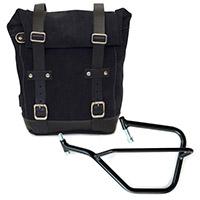 Unit Garage Leather Bag+sx Frame Black