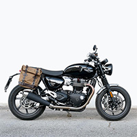Unit Garage Canvas+telaio Dx Triumph Speed Twin Beige