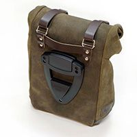 Unit Garage Leather Gray Leather Bag