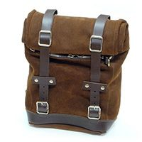 Unit Garage Leather Brown Leather Bag