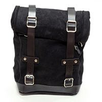 Unit Garage Leather Black Leather Bag