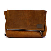 Borsa Unit Garage Messenger Fezzan Cuoio Marrone