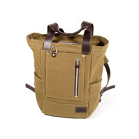 Unit Garage Zaino Namib 18l Canvas Verde Marrone