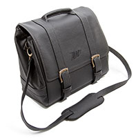 Zard Leather Bag For Triumph