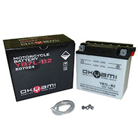 Okyami Battery Yb7l-b2 Acid