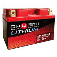 Okyami Batteria Litio Litx20hq