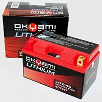 Okyami Batteria Litio Litz10s