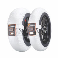Thermal Technology Tire Warmers Race Silver