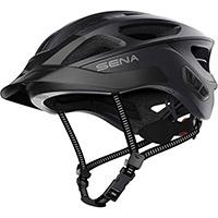 Casco Ciclismo Sena R1 Evo Smart Nero Opaco