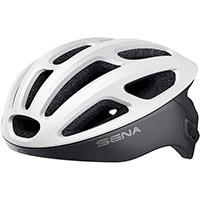 Casco Ciclismo Sena R1 Smart Bianco Opaco