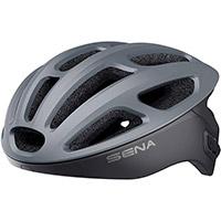 Casco Ciclismo Sena R1 Smart Grigio Opaco