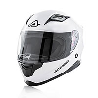 Casco Niño Acerbis Carlino blanco