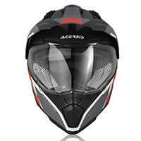 Acerbis Flip Fs-606 Helmet Grey Red