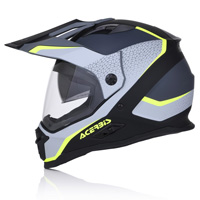 Acerbis Reactive Graffix Grey Black