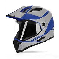 Acerbis Reactive Graffix Vtr Helmet Grey Blue