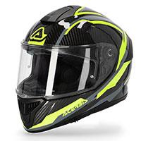 Acerbis Tarmak Carbon Helmet Grey Yellow