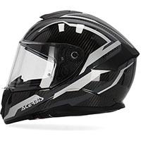 Acerbis Tarmak Carbon Helmet Black Grey