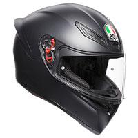 Agv K1 E2205 Solid Nero Opaco
