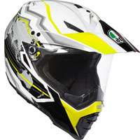 Agv Ax-8 Dual Evo Earth Giallo Fluo
