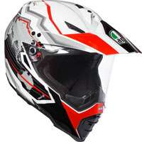 Agv Ax-8 Dual Evo Earth Red