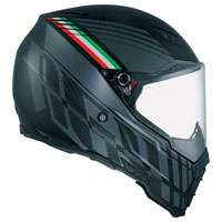 Agv Ax-8 Naked Carbon Black Forest