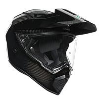 Agv Ax9 Glossy Carbon Helmet