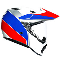 Agv Ax9 Atlante White Blue Red