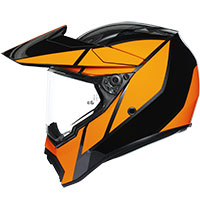Agv Ax9 Trail Gun Metal Orange