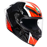 Agv Corsa R E2205 Casanova Rosso Nero Verde