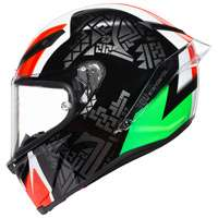 Agv Corsa R Casanova Black Red Green Helmet